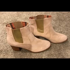 Women's Sperry Ankle Boots Tan Size 12